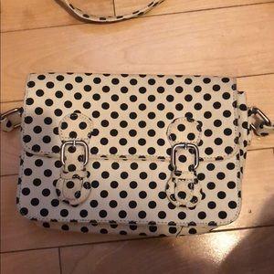 Polka dot forever 21 purse.